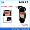 Alta precisão unidade de pessoal de segurança keychain digital alcohol tester bafômetro