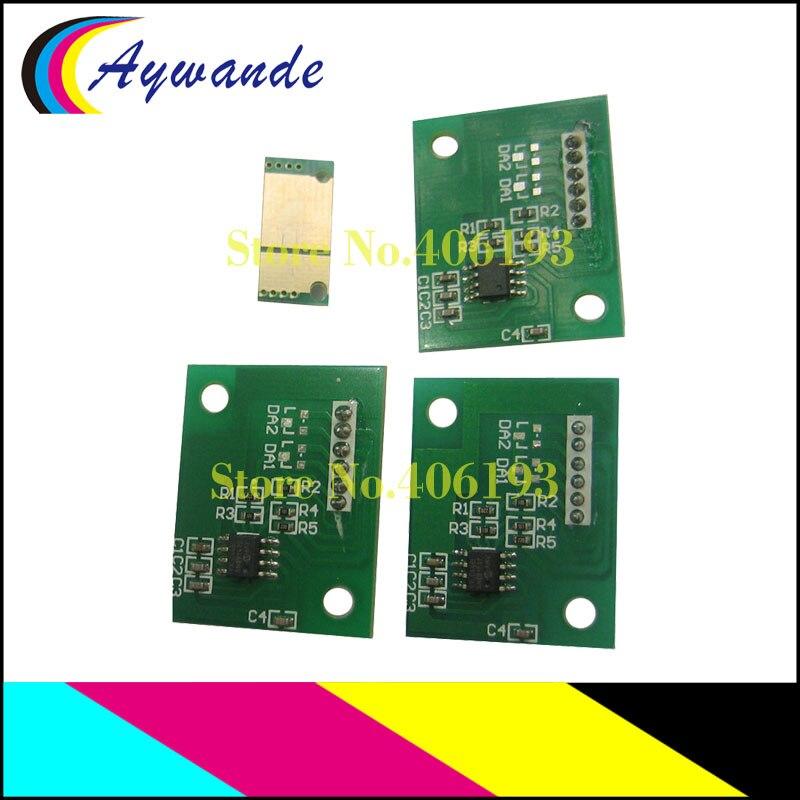 4x Drum Image Unit  Reset Chips For KONICA MINOLTA BIZHUB C452 C552 C652