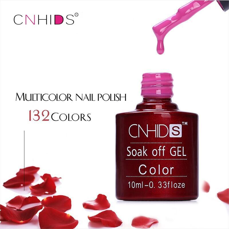 Unhas de Gel polonês UV e LED brilhante colorido 132 Colors10ML duradouro molho fora verniz Manicure barato