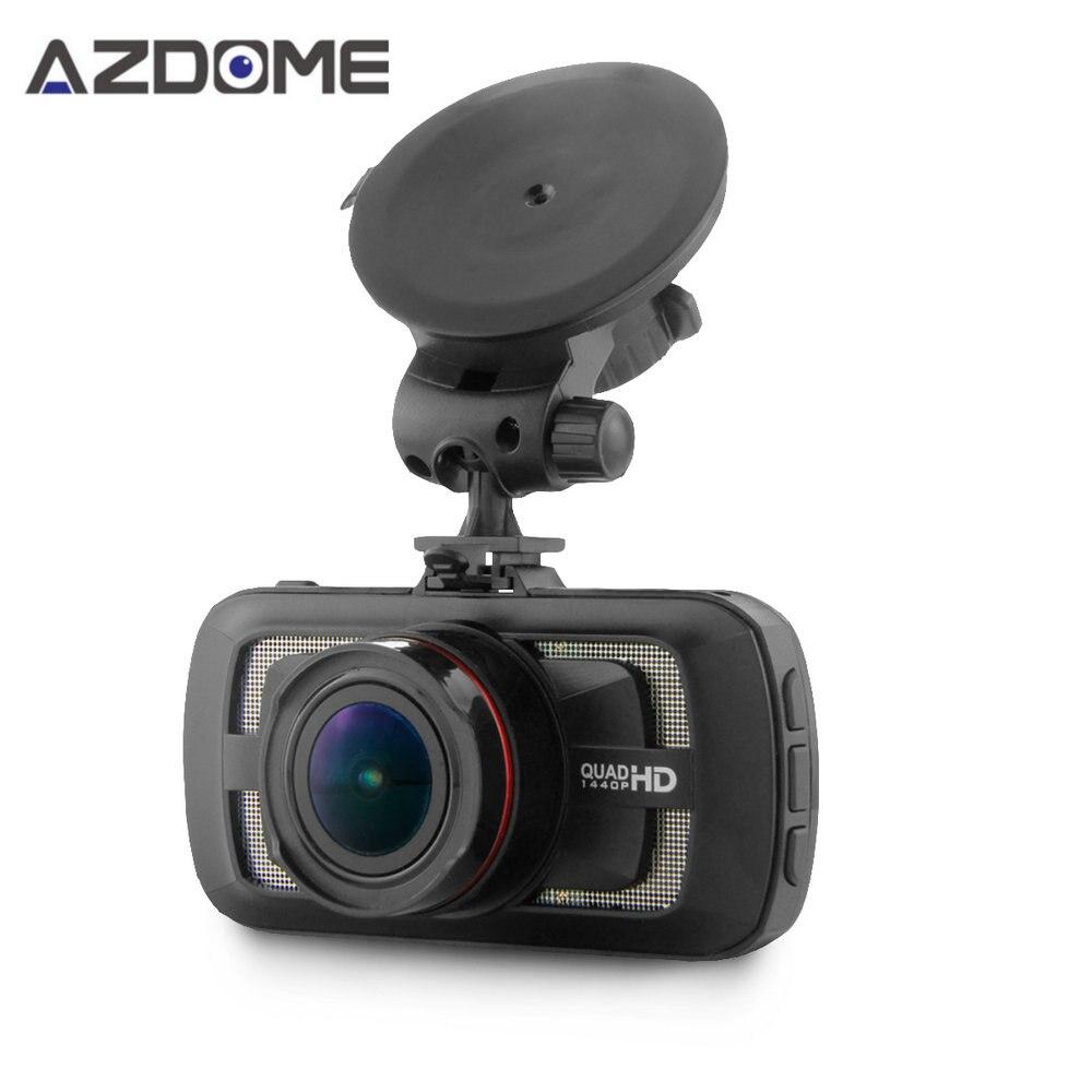 Azdome DAB205 Ambarella A12 Car DVR Camera HD 1440P 30fps 2 7 inch Video Recorder HDR