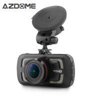 Azdome DAB205 Ambarella A12 Auto DVR Camera HD 1440 P 30fps 2.7 inch Video Recorder HDR ADAS Auto Cyclus Opname Dash Cam GPS H3