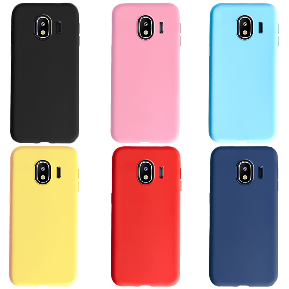 Candy Color Silicone Phone Case For <font><b>Samsung</b></font> <font><b>Galaxy</b></font> <font><b>J2</b></font> <font><b>2018</b></font> Case J250 <font><b>J250F</b></font> Soft TPU Cover For <font><b>Samsung</b></font> <font><b>J2</b></font> <font><b>2018</b></font> <font><b>J2</b></font> Pro <font><b>SM</b></font>-<font><b>J250F</b></font> image