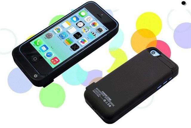 Hottest caja de batería para iphone 5 5s 5c 4200 mah portátil batería de reserva externa del caso banco de la energía de carga de la batería con el soporte