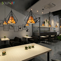 Modernas lámparas de techo colgante lámparas de araña y colgantes para habitación Loft estilo escandinavo lámparas moderno colgante
