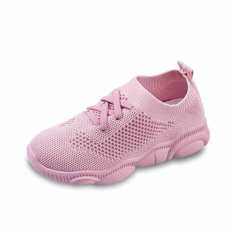 Kids Sneakers Running Children Shoes Breathable Knit Socks Sneakers Outdoors Soft Casual Shoe Boys Girl Kids Sneakers
