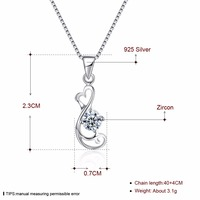 Popular Geometry Design Box Chain Beach Or Party Jewelry High Quality 925 Pure Silver Necklace For Woman