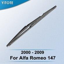 YITOTE Задняя щетка стеклоочистителя для Alfa Romeo 147 2000 2001 2002 2003 2004 2005 2006 2007 2008 2009