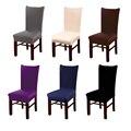 Colores Sólidos elástico Spandex silla cubierta para boda fiesta elástico multifuncional muebles de comedor cubre casa Decoración
