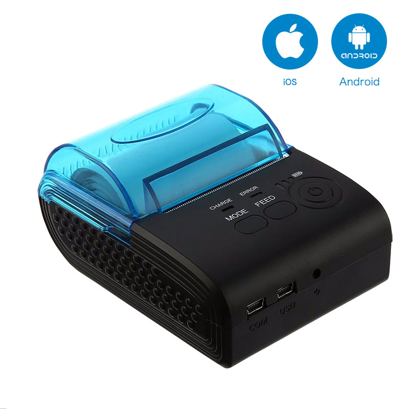 NT-1805DD 58mm Receipt Impressora Térmica Do Bluetooth para Android e IOS E NT-1805LD Mini Impressora POS Impressora para Android Móvel