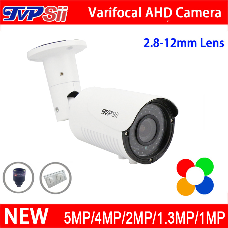 5mp/4mp/1080P/960P/720P Metal Case 42pcs infrared Leds 2.8mm-12mm Zoom Lens Varifocal AHD CCTV Security Camera Free Shipping 3megapixel dc auto iris varifocal cctv lens 2 8 12mm cs mount for 720p 1080p box camera ip ahd camera free shipping