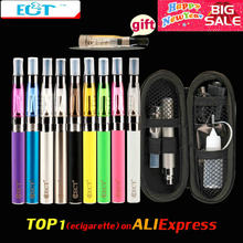 ECT eGo CE4 e Cigarette Zipper Case eGo Kit 650mah 900mah 1100mah 1300mAh ego t Battery CE4 Atomizer 1.6ml Electronic Cigarette(China)