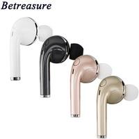 Betreasure Business Wireless Stereo Bluetooth Headset Earphone Handsfree With Mic Headphones Headsets For Xiaomi Huawei