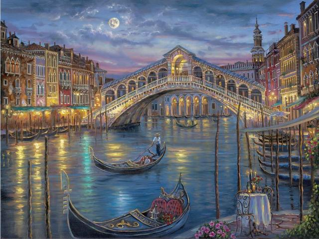 free shipping 24 x32 inch robert finale painting venice italy home