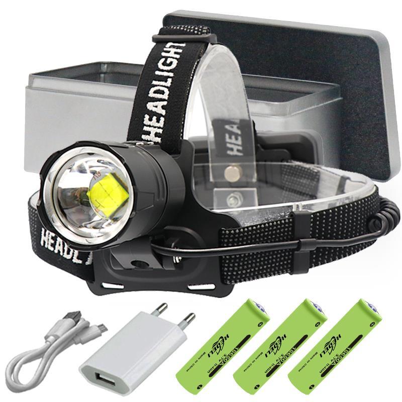 8000 Lumen XHP70.2 Most Powerful Led Headlamp Headlight Head Torch Led Usb Head Lamp  Flashlight XHP70 XHP50 18650 Head Light