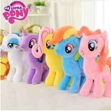 My Little Pony 20 см игрушка мягкая Пони Игрушка Кукла Пинки Пай Радуга Дэш фильм и ТВ единорог игрушки Дружба это Волшебный подарок для девочки