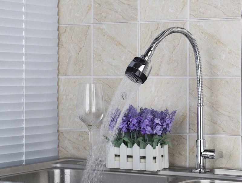 e pak BEST Kitchen Sink Mixer Tap Solid Brass Washbasin Faucet Mxier Taps torneira 360 Degree