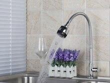 E-pak BESTEN Küchenspüle Mischbatterie Massivem Messing Waschbecken Wasserhahn Mxier Wasserhähne torneira 360 Grad Drehbarem Auslauf mit Dual Wasser weg
