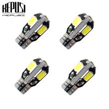 4X Canbus 194 W5W T10 LED Car Light  5730 Auto Bulbs Styling For Honda Acura Spirior City Stream Fit Accord Civic Odysse