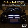 Tcact для Honda Civic 2017 RGB светодиодные фонари
