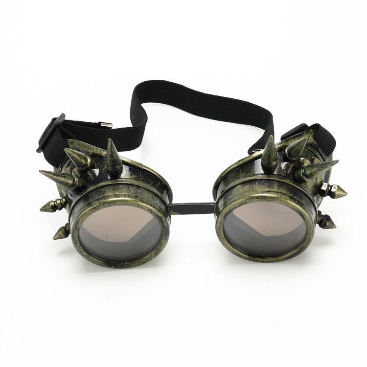 Steam punk glasses steampunk steam windproof mirror vintage gothic lenses Goggles Cool Sunglasses - Ami Cai's store