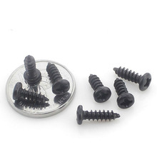 200PCS-M1.4*3/4/5/6/8/10   Pan Head Self Tapping Screws Phillips Head Tapping Screws