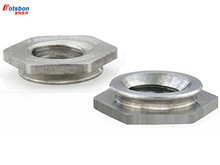 200pcs F-256-1/F-256-2 Self-clinching Flush Fasteners Nature Stainless Steel Nuts PEM Standard Factory Wholesales