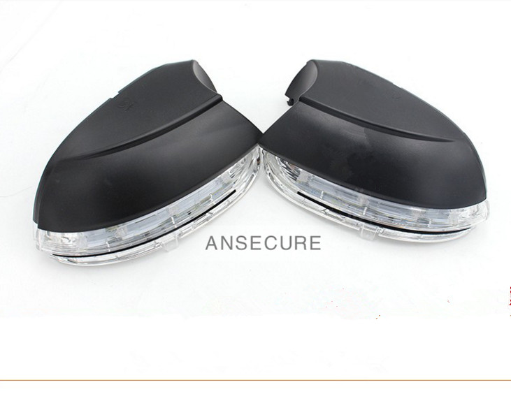 Pair  Left and Right  Side Turn Signal Light  Mirror Lamp for VW Jetta MK6 Passat B7 CC 16D 949 101 +16D 949 102