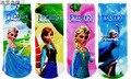 2015 Autumn Children Kid Cotton Sports Socks Elsa Anna Children Print Cartoon Character Socks Princes Good Quality Free Shipping
