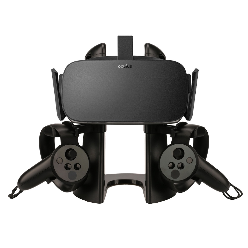 VR Display Station Holder Storage Stand For Oculus Rift Headset Controller - VR Virtual Reality System шлем виртуальная oculus