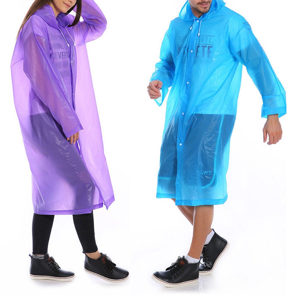 MOOUK Motorbike Poncho with Reflective Strip Safe Riding PVC Waterpoof Wide Hat Brim Universal Raincoat Large Rain Cape Mobility Scooter