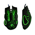 IMICE-ESTONE  X9 5000DPI e-sports gaming mouse dazzle colour breathing lamp CF Professional game LOL Mute USB