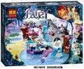 2016 Новый BELA 249 шт./компл. DIY Развивающие Игрушки Принцесса Девушка Найда секрет Спа Строительные Блоки, которые Поддерживаются Legoe Эльфы