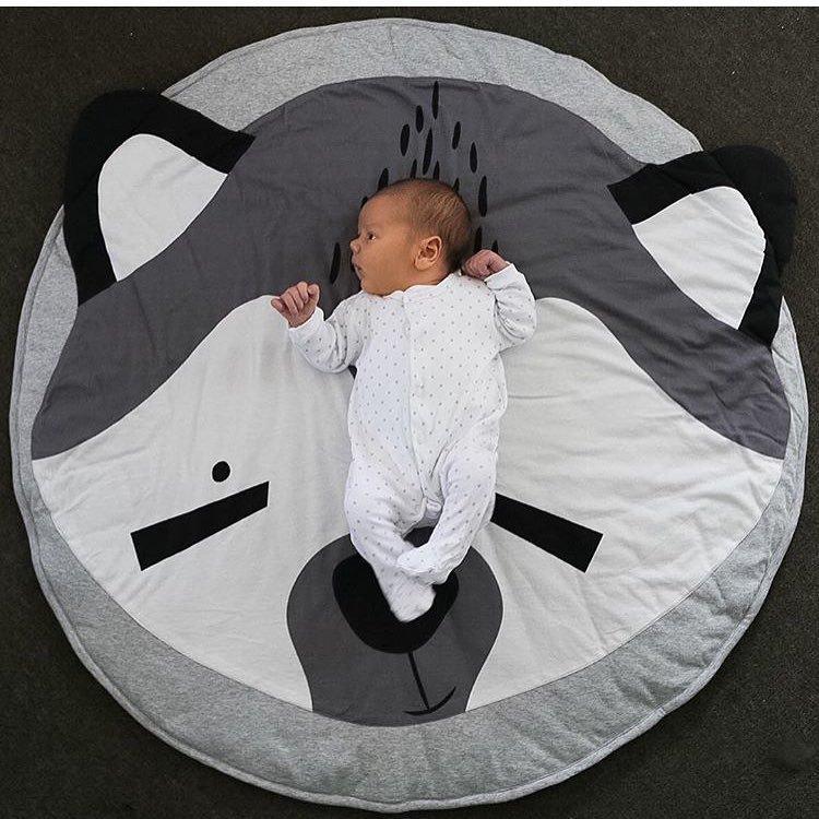 Tekenfilm dieren Zacht baby matras Kinder kleed Vloermat Jongen - Beddegoed - Foto 5