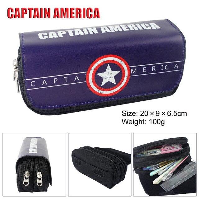 Пенал капитан америка и другие супергерои 4