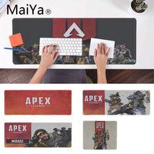 Maiya Cool New apex legends прочный резиновый коврик для мыши игровой коврик для мыши xxl настольный ноутбук коврик для мыши геймер для dota2 lol