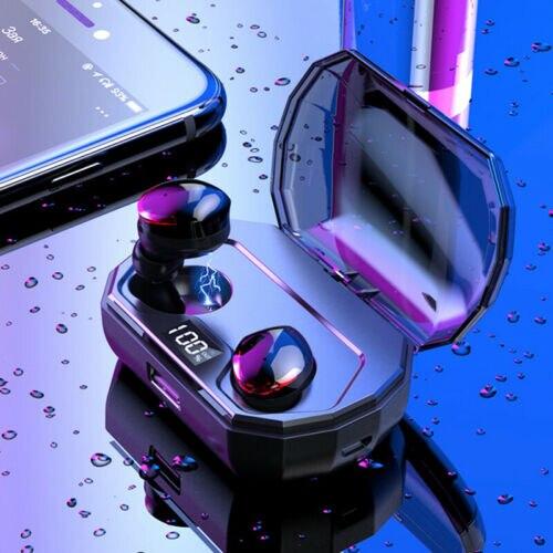 R10 IPX6 3300mAh Bluetooth 5.0 Earbuds True Wireless Headset Twins Earphones Handsfree Noise Canceling Wirless Headphone