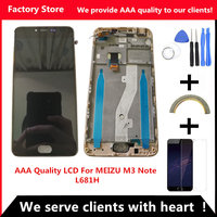 AAA Quality Original LCD For MEIZU M3 Note L681H Lcd Display Screen Replacement For MEIZU M3