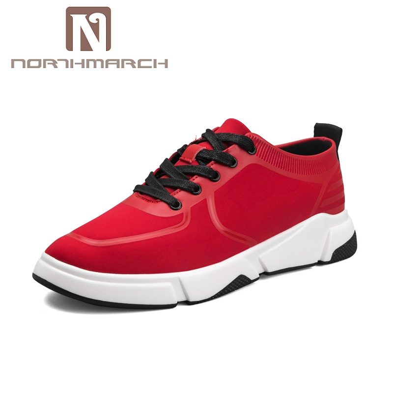 NORTHMARCH 2018 Spring Summer Fashion Casual Shoes Men Trend Sneakers Breathable Lace-Up Mens Trainers Zapatos De Hombre spring ultra light mens shoes men casual leather mans footwear zapatos hombre presto lace up breathable air chaussure homme 95