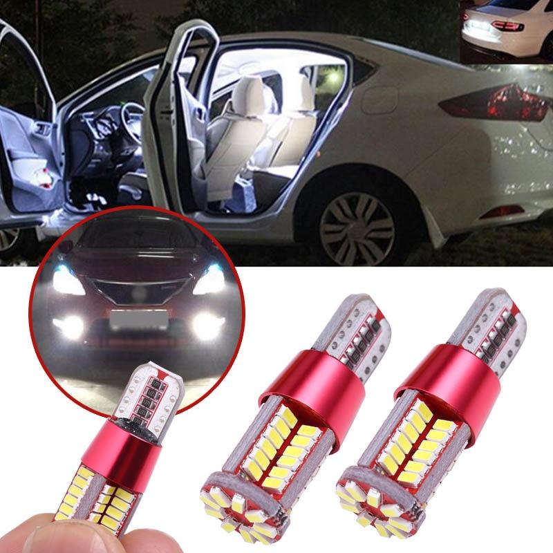 2017 Premium T10 501 194 W5W 4014 LED 78-SMD Car Canbus Error Free Light Bulb