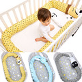 Muslinlife New Arrival Baby Bed Bumper Crib Bumper Lovely Zebra Fox Unicorn Bumpers Cute Cartoon Baby Cushion Lenght 3 Meters