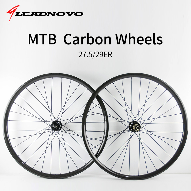 MTB bike carbon wheels 27.5er 29er clincher glossy matte 3K UD surface cycling bike wheelset racing bike parts carbon mtb 650b rims stiffer dh bike part 27 5er 35x25mm wide down hill jumping racing ride excellent cycling parts store online