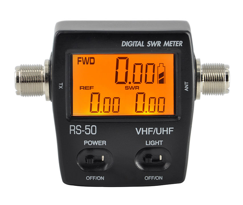 RS-50 UV dual-stage standing wave meter power meter SWR power meter new style nissel rs 70 digital swr