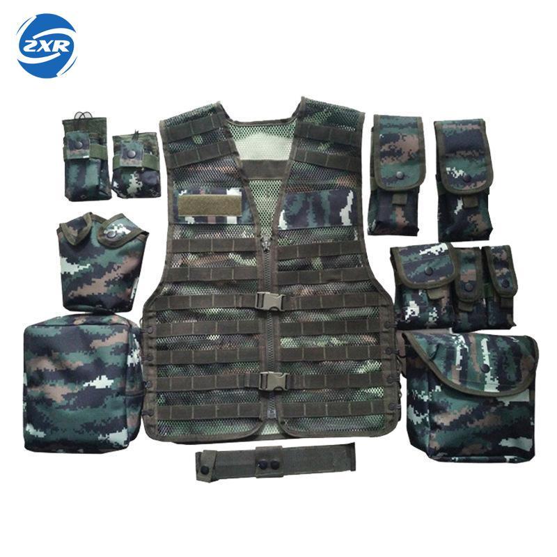 Unloading Men Tactical Hunting Vest Multi-pocket Camouflage Mesh Vest Army Combat Uniform Military Law Enforcement Vest все цены