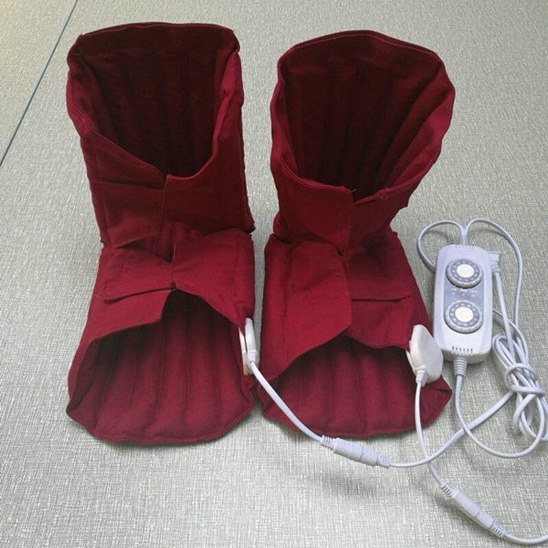 Herramienta eléctrica caliente para el cuidado de la rodilla bolsa de frijol rojo terapia de sudor Paquete de calor codo almohadillas hombro modelos multiusos venta