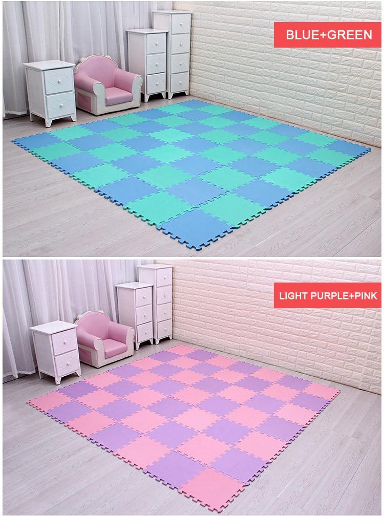 HTB1qajtnfDH8KJjy1Xcq6ApdXXaj Baby EVA Foam Puzzle Play Mat /kids Rugs Toys carpet for childrens Interlocking Exercise Floor Tiles,Each:29cmX29cm