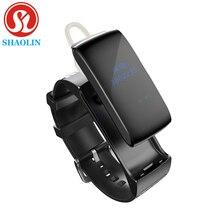 SHAOLIN Смарт-Группы Talkband Bluetooth Смарт Браслет Портативный Говорить Smartband Активность Фитнес Трекер Для IOS Android Phone