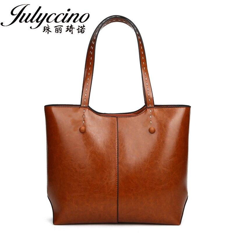 Women Leather Handbags Big Women Bag Casual Female Bags Trunk Tote Spanish Brand Shoulder Bags