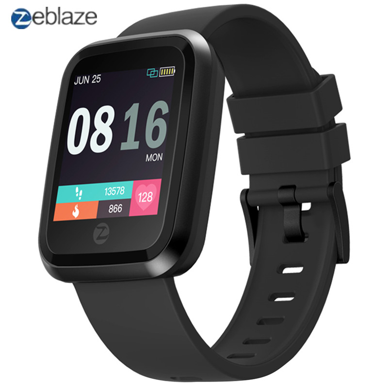 Zeblaze Crystal 2 Smart Bracelet IP67 Waterproof Wearable Device Heart Rate Monitor Color Screen Smart Watch for Android iOS zeblaze zeband plus smart bracelet blue