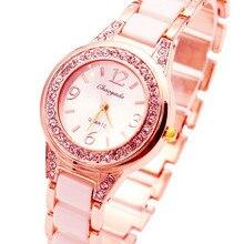 Relogio Feminino Mode Montres Simulé-Céramique de Femmes Hodinky Bracelet Montre Dames Quartz-montre Montre-Bracelet Femmes Horloge