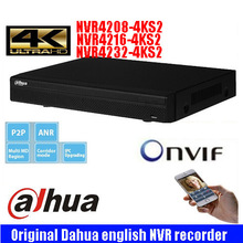 Dahua DHI-NVR4208-4KS2 DHI-NVR4216-4KS2 DHI-NVR4232-4KS2 1080P Support 2 SATA III Port Up to 6 TB capacity for each HDD 2 USB